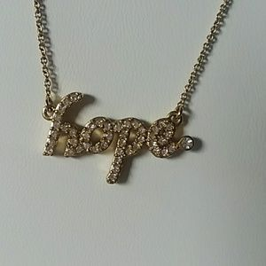 """Jewelry - """"Hope """" necklace"""